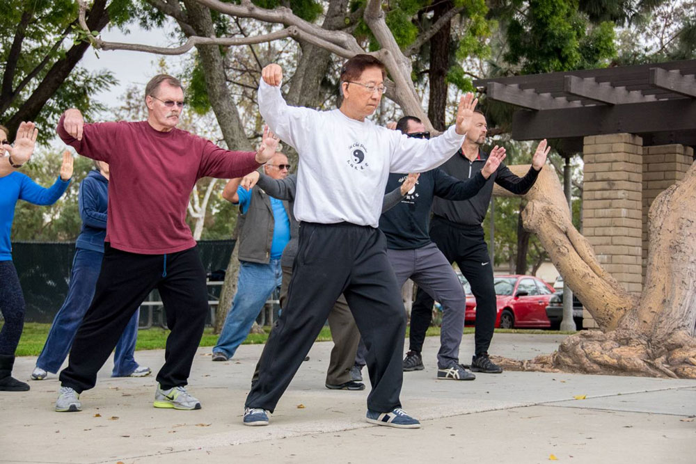 Tai Chi Practice in the Park
